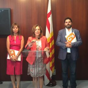 Carina Mejías constata que el gobierno de Ada Colau en Barcelona se dedica 'mucho a deshacer y poco a construir'